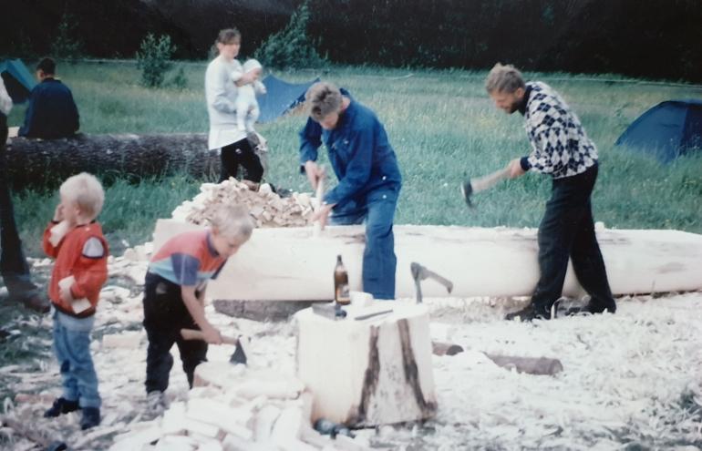 Haabjalaager Saarisoos 1996